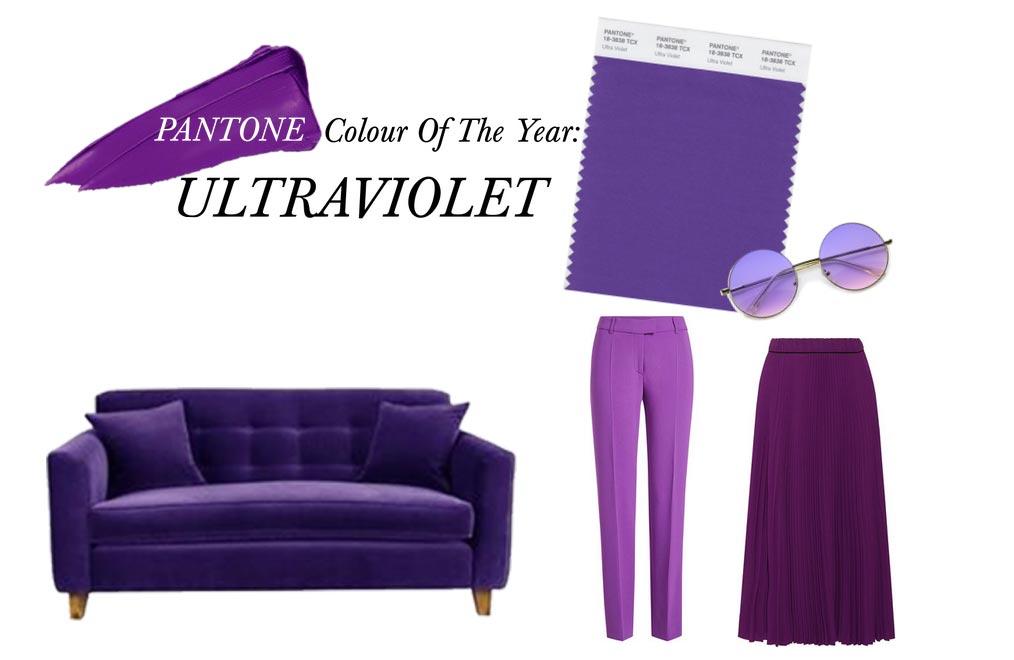 Culoarea anului 2018 – o nuanţă de mov botezată ultra violet