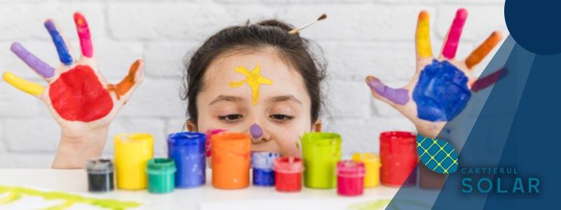 Transforma timpul petrecut impreuna cu cei mici in activitati creative